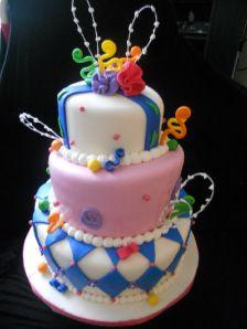 Cake Ideas by Lori Kirk Topsy Turvy Wedding Cake