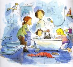 Stephen Michael King Mutt Dog, Book Creator, Shower Time, Book Week, Children's Book Illustration, S Pic, Make Me Smile, Childrens Books, Illustrators