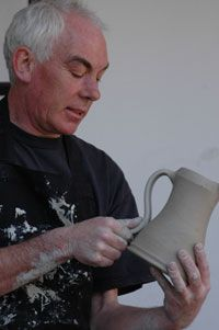 Fergus Stewart, Scottish potter and co-author of Deep in the Valley of Tea Bowls