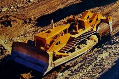 A Cat D9G back in the day #CatMachines
