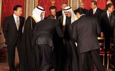 Obama bowing to King Abdullah of Saudi Arabia at the G20 Summit---- WE BOW TO NO ONE! Absolutely disgraceful!!! 15 of the 19 September 11th terrorists live in in his country!