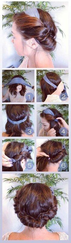 Fan van de bandana, maar lukt het niet altijd even goed om het sjaaltje in je haar te knopen? Dankzij deze 5 tutorials is dat in een handomdraai gebeurd!