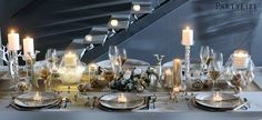 PartyLite Wedding Table Setting - Simply Elegant