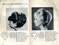 I stumbled across a very old posting of 1960s hairdos and setting patterns on Livejournal: Vintage Hair - Hairstyles for vintage enthus...