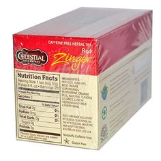 Celestial Seasonings Red Zinger Herb Tea  3x20 Bag -- See this great product. (This is an affiliate link and I receive a commission for the sales)