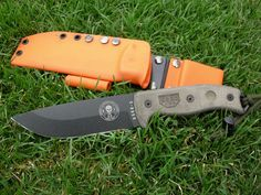 ESEE 5 this knife will be free in orange.thursday night on F/B check out USA Made Blades for details tell them swampfox sent you