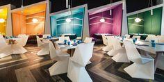 Vondom für den renommierten 'Matisse Beach Club' in Australien Shisha Design Bar Restaurant, Café Restaurant, Restaurant Interiors, Australian Interior Design, Interior Design Awards, Interior Ideas, Design Commercial, Commercial Interiors, Beach Club
