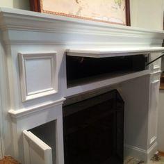 Diy fireplace mantel tutorial diy fireplace mantel fireplace 20 sneaky storage ideas fireplace redofireplace mantlesfireplace surroundsfireplace ideasrenovate fireplacefireplace diy solutioingenieria Images