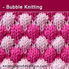 Textured stitch patterns add i