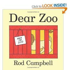 READ TOGETHER: Dear Zoo, Rod Campbell. Love this book, children can guess what is under the flap and join in with repeating, reciting and then reading the text at an early age.