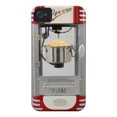 popcorn machine iphone case