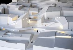 Maqueta arquitectura Valencia (With images) Architecture Office, Architecture Design, Architecture Models, Upv Valencia, Diagram Design, Abstract Paper, Arch Model, Floor Plans, Ceiling Lights