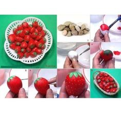 Rocks make inedible strawberries. | 19 April Fools' Day Pranks You Can Easily Make Yourself