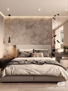 Luxury Bedroom Design, Master Bedroom Interior, Modern Master Bedroom, Home Room Design, Home Decor Bedroom, Home Interior Design, Suites, Apartment Interior, Luxurious Bedrooms