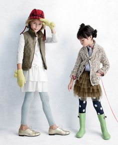 crew cuts [jcrew] // the outfit on the little girl on the right = love