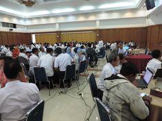 Ujicoba peserta dan tanya jawab tentang kegiatan Pelatihan Pendataan Potensi Pajak Daerah.