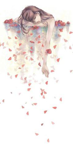 Trống, hoa hồng