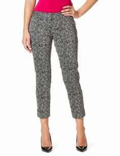 The Limited - Drew Tab-Waist Cuffed Ankle Pants: $54.90-<3 my new pants :)
