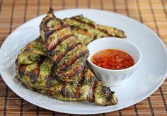 Grilled Thai Chicken with Sweet Chili Garlic Sauce