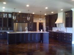 Incredible Stain Concrete Floor Colors Decorating Ideas Images In for Stained Concrete Kitchen Floor Concrete Kitchen Floor, Acid Stained Concrete Floors, Kitchen Flooring, Stain Concrete, City Loft Sherwin Williams, Floor Design, House Design, Exterior Paint Color Combinations, Floor Colors