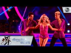 Jordan and Lindsay's - Trio Dance - Dancing with the Stars - YouTube