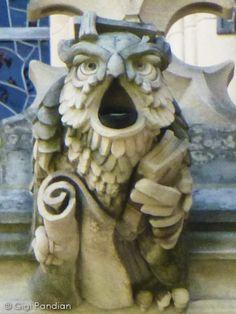 Gargoyle Girl: Gargoyles of the National Cathedral in Washington, DC (Part 2: History)