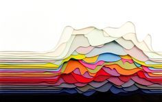 Abstract paper crafts