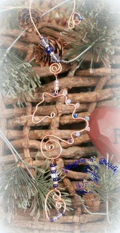 ~Wired Whinnies ~ by Rhythm-n-Beads TM  are  whimsical wire horse Suncatchers....lovingly hand fashioned  from copper wire and accented with beads & charms. Hang your 'wired whinnies' ... * in a window *from a rear view mirror * from a lamp * in the tack room * on the Christmas tree or a wreath during the holidays, or......the possibilities are endless :) Wire Horse Suncatchers, Rearview Mirror Dangles, Horse Ornaments www.rhythm-n-beads.com www.facebook.com/rhythmbeads