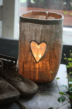 ♡ Your Heart is Mine, Valentine ♡  heart candle