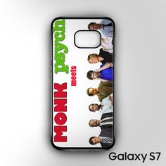 mr monk meets psych AR for Samsung Galaxy S7 phonecases