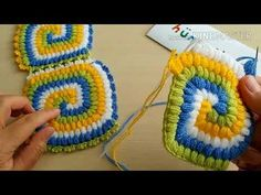 How To Make Square Spiral Blanket Fiber Model My Own Design - örgü Baby Knitting Patterns, Crochet Baby Dress Pattern, Free Knitting, Crochet Patterns, Little Tattoo For Girls, Cute Little Tattoos, Colorful Sleeve Tattoos, Crochet Circles, Manta Crochet