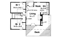 Country House Plan First Floor - 038D-0478 | House Plans and More