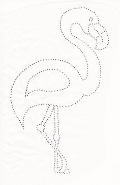 Flamingo for string artBirthday piña y flamencoFlamingo com moldeDiscover recipes, home ideas, style inspiration and other ideas to try.How to draw a flamingo Bead Embroidery Jewelry, Beaded Embroidery, Embroidery Patterns, Hand Embroidery, Doily Patterns, Card Patterns, Embroidery Dress, Dress Patterns, String Art Templates