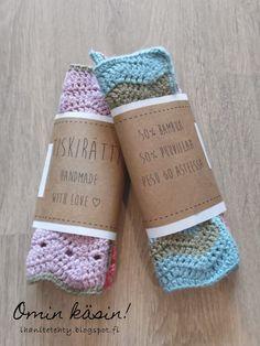 Virkatut tiskirätit crochet home, knit crochet, fun projects, handicraft, b Crochet Home, Knit Crochet, Diy And Crafts Sewing, Diy Crafts, Valentine Crafts, Valentines, Wedding Tissues, Craft Wedding, Craft Videos