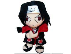 naruto itachi plush doll
