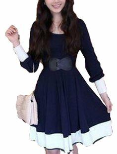 Amazon.com: Ladies Cotton Jumpsuit Skirt Dress For Elastic Belt: Clothing
