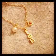 Gamma Phi Beta necklace
