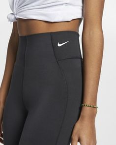 d4b1896244274 Nike Victory Women's Training Tights Women's Training Tights, Barre  Workout, Black White Fashion,