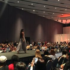 Another great fashion show shot from #PremierBridalShows #weddingExpo at the #AnaheimConventionCenter special thanks to the fashion show team (more photos to come!) #marymebridal #salon5150 #arteofMAkeup #preferredweddings #solano888productions #davidsbridal #menswearhouse #illuminatedEvents #alanifoto and #gorgeous #models !
