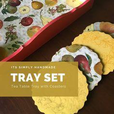 Altered Art, Coasters, Tray, Mexican, Wall Art, Ethnic Recipes, Handmade, Food, Home Decor