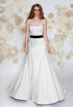 Tara LaTour Fall 2013 Wedding Dress Collection   junebugweddings.com