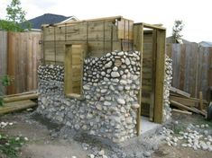 Now You Can Build ANY Shed In A Weekend Even If You've Zero Woodworking Experience! Start building amazing sheds the easier way with a collection of shed plans! Building Stone, Building A Shed, Natural Building, Building Exterior, Building Plans, Building Design, Outdoor Storage Sheds, Shed Storage, Diy Storage