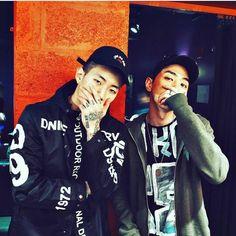 Jay Park and Gray - AOMG