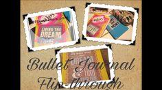 Bullet Journal flip-through November 2016 - YouTube