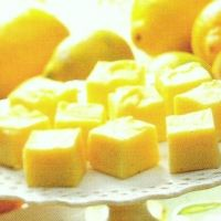 The original Creamy Lemon Fudge Recipe...   1 1/2 - teaspoons plus 1/2 - cup butter divided  1 - package ( 4.3 ounce) cooking kind of lemon pudding / pie mix  1/2- cup milk  3 3/4 - cup powdered sugar  1- teaspoon lemon extract