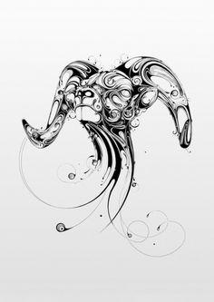 Ram - Art Direction, Design & Illustration by Si Scott