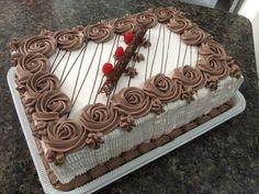 Cake Decorating Frosting, Creative Cake Decorating, Cake Decorating Techniques, Creative Cakes, Cake Icing, Buttercream Cake, Cupcake Cakes, Nutella Birthday Cake, Rodjendanske Torte