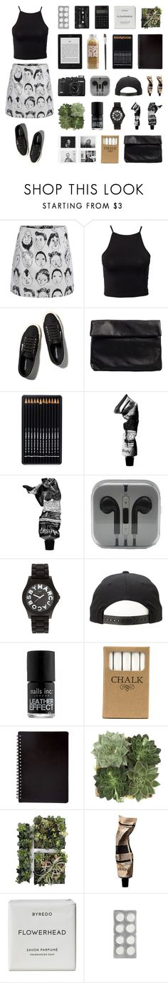"""""""what if we said goodbye to safe and sound?"""" by becauseallycan ❤ liked on Polyvore featuring NLY Trend, Abercrombie & Fitch, Nelly, Aesop, Marc by Marc Jacobs, Nails Inc., Jayson Home, Aromatique, Byredo and Muji"""