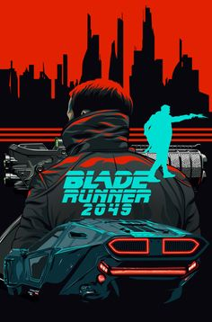 The Blade Runner by Amando Aquino - Gussie Creek Blade Runner Wallpaper, Blade Runner Art, Blade Runner 2049, Blade Runner Poster, Cyberpunk Aesthetic, Arte Cyberpunk, Classic Movie Posters, Movie Poster Art, Denis Villeneuve