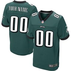 69d481e763c Nike Eagles Zach Ertz Midnight Green Team Color Men's Stitched NFL Elite  Jersey And Browns DeShone Kizer 7 jersey